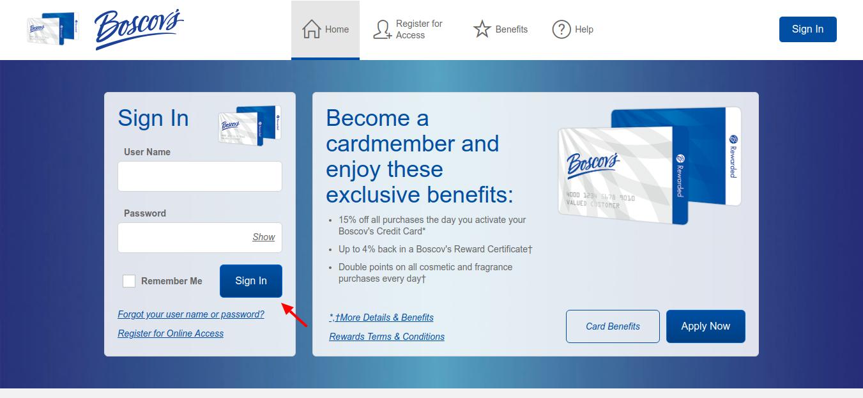 Boscov-s-Credit-Card-sign-in