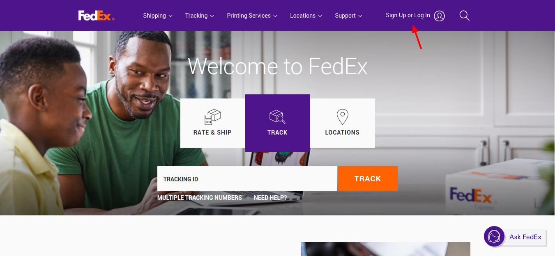 FedEx-login