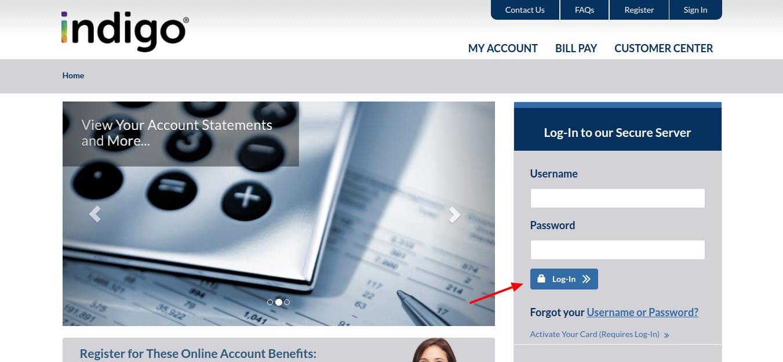 Indigo-Platinum-MasterCard-login