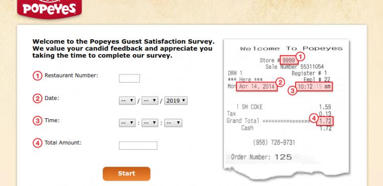 Popeyes-Survey