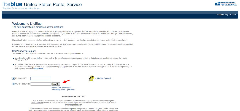 United-States-Postal-Service-login