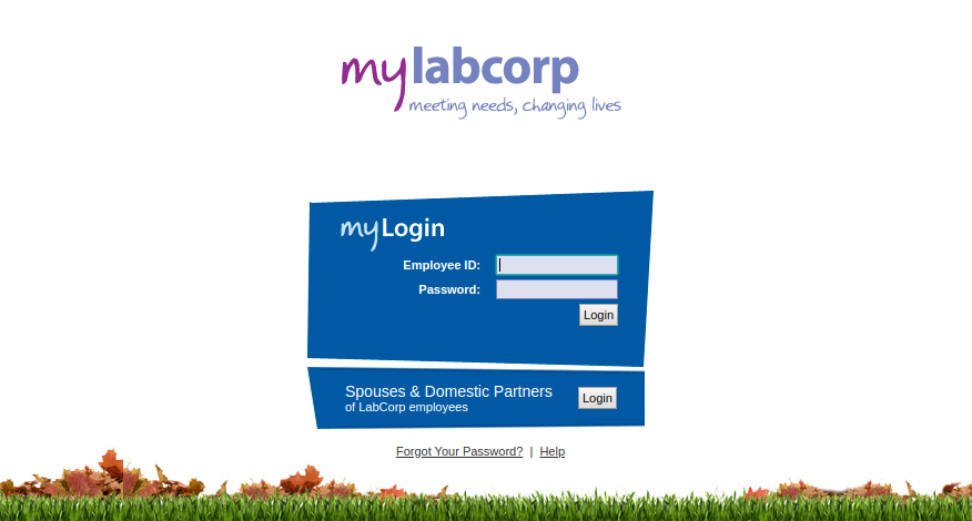 mylabcorp meeting needs changing lives