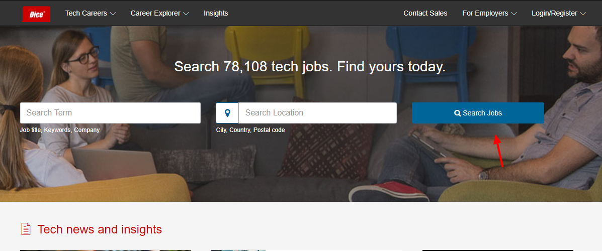 Dice Search jobs