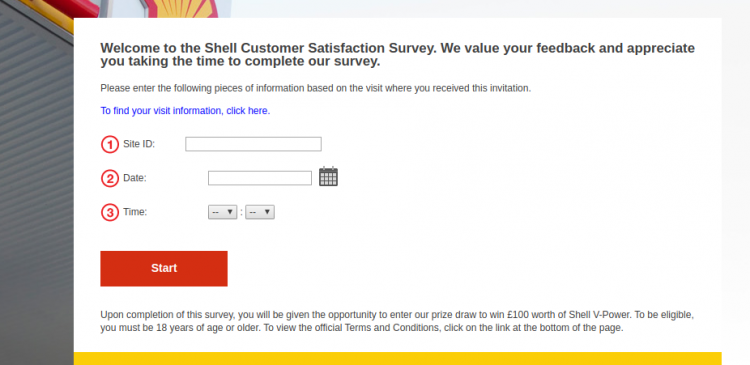 Shell Customer Satisfaction Survey