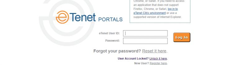 eTenet Logo