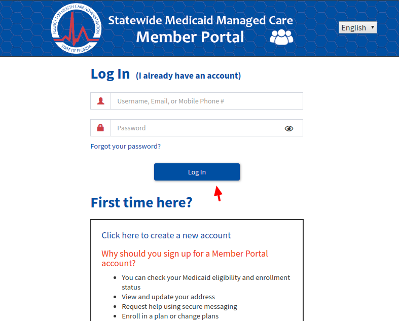 FL Statewide Medicaid Managed Care Login