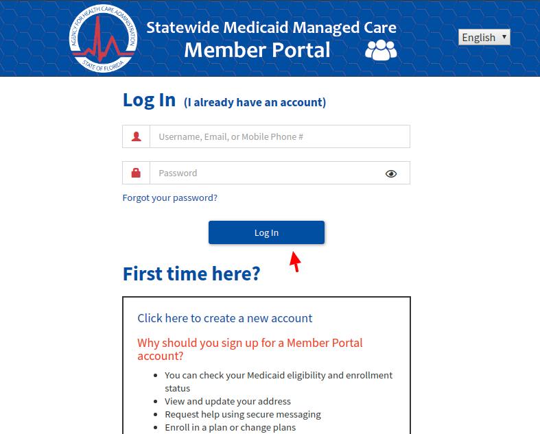 FL Statewide Medicaid Managed Care Login