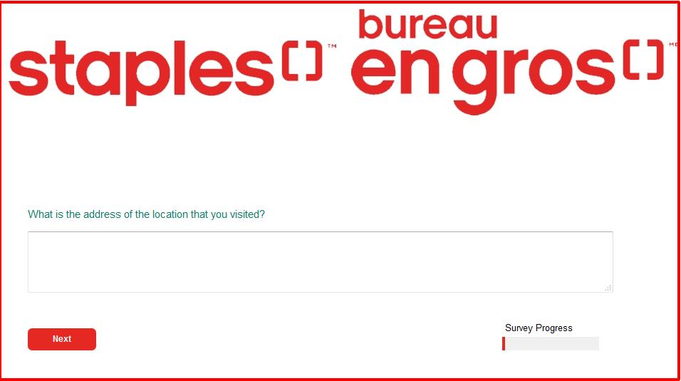 Staples Bureau Survey