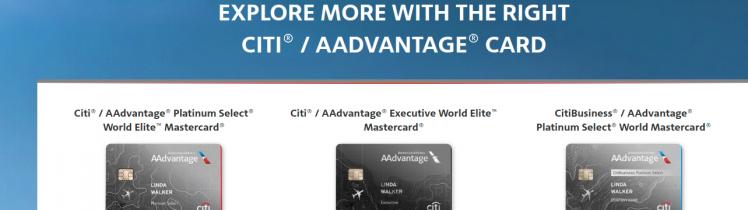 Citi AAdvantage Card Logo