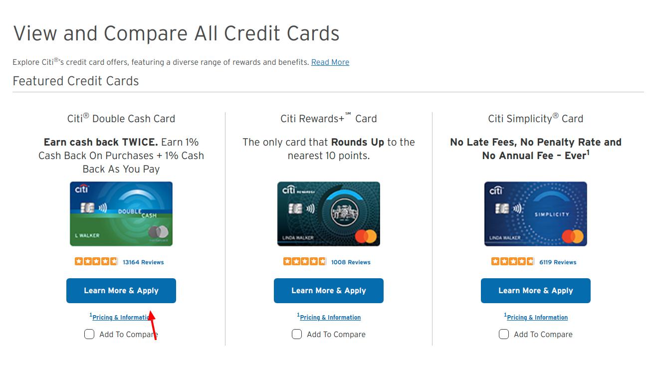Citi Credit Card Apply