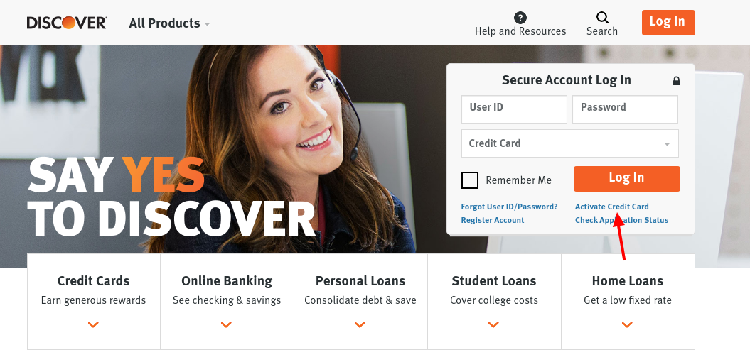 Discover Credit Card Activate
