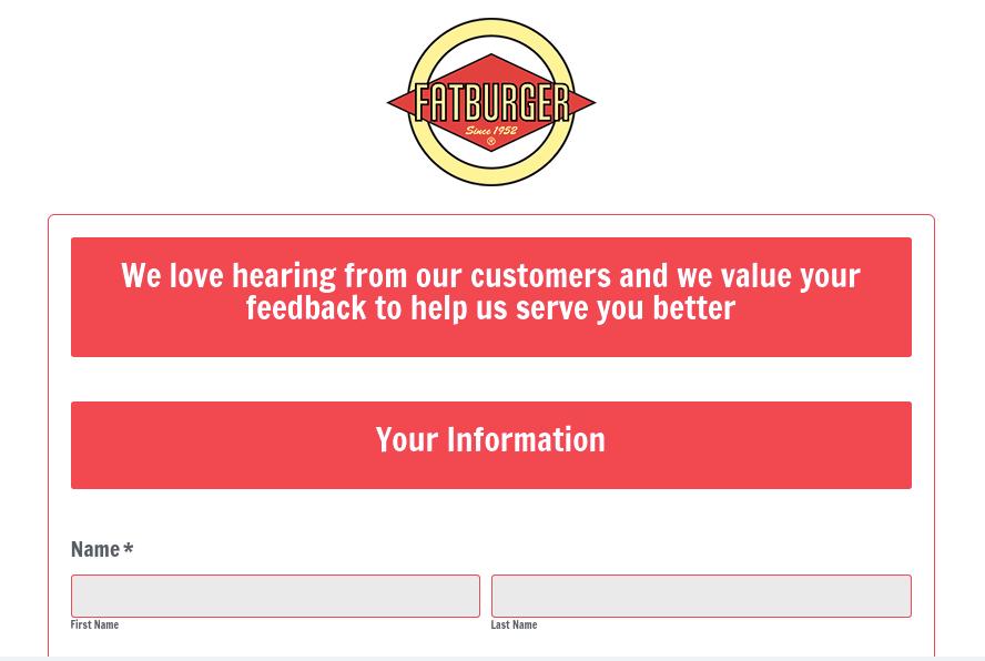 Formstack Feedback Survey