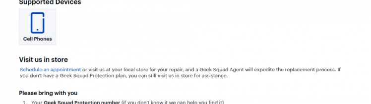 Geek Squad Protection Best Buy Logo