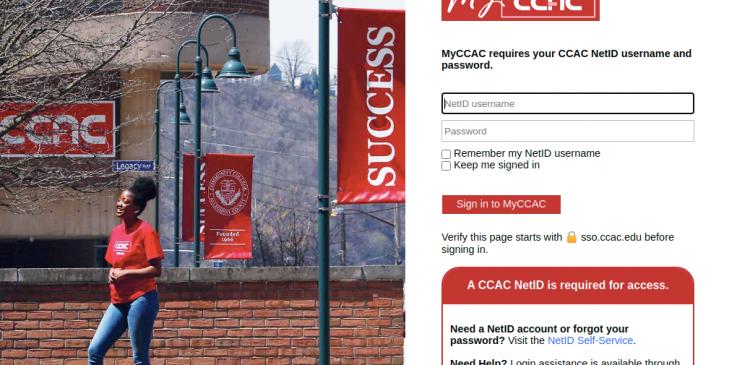 MyCCAC Logo