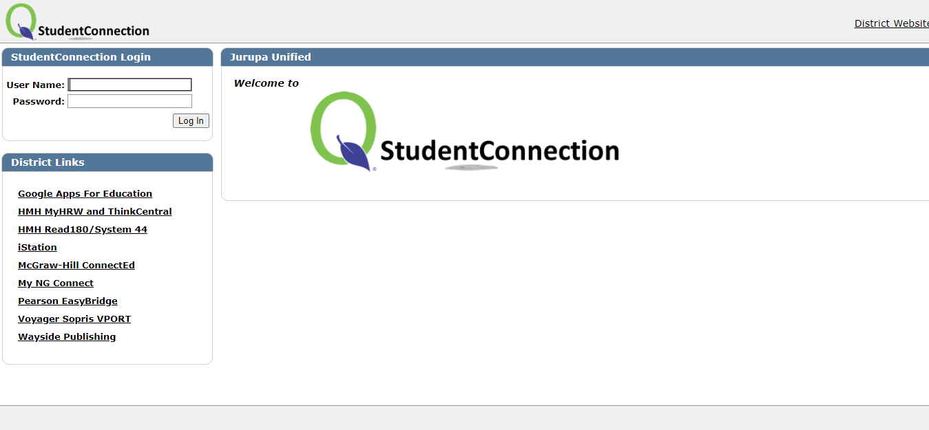 Student connect jusd login