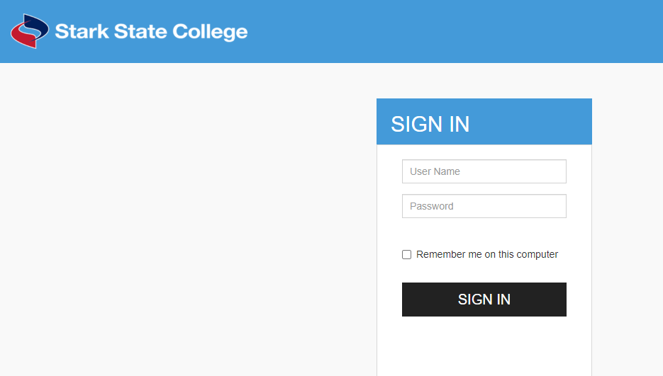 Stark State College Login
