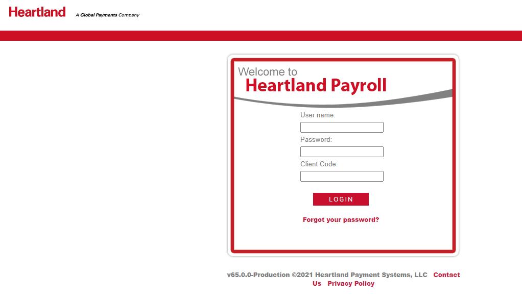 heartland payroll login